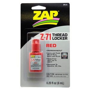 ZAP Threadlock RED 6ml - (PT71)