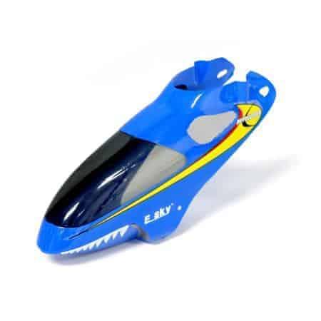 (EK1-0580) - Blue Canopy Cover for E-sky Lama V4