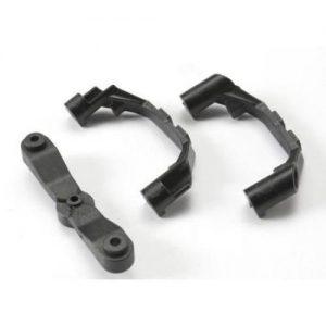(TRX-5443X) - Mount, steering arm/ steering stops (2)