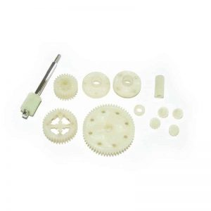 (YEL12011) - YellowRC Spur gear + Diff. gears assembly