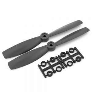 HQProp Bullnose CCW 5X4.5RB Black (Pack Of 2)