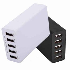 Πενταπλό USB Charger WCG5L (ΛΕΥΚΟ)