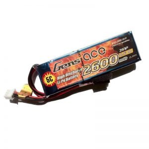 Gens ace 2600mAh 11.1V TX 3S1P Lipo Battery pack