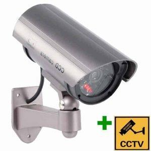 DUMMY CAM 27 Ψεύτικη κάμερα Ομοίωμα Dummy Camera με LED που αναβοσβήνει