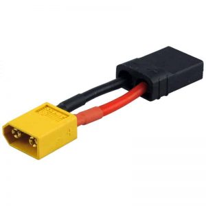 Adaptor YUKI MODEL compatible with XT60 plug TRAXXAS socket